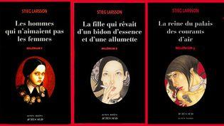 "La trilogie ""Millenium"" de Stieg Larsson  (Actes Sud)"