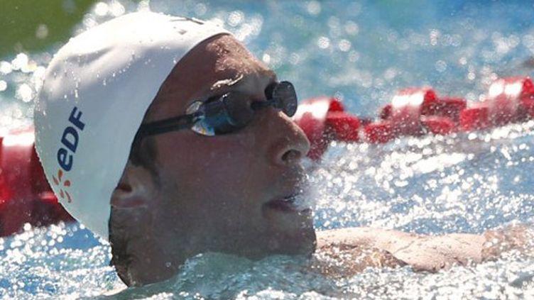 Le sprinteur français Fabien Gilot