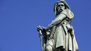 La statue de Vercingétorix àAlise-Sainte-Reine (Côte-d'Or). (ESCUDERO PATRICK / HEMIS.FR / AFP)