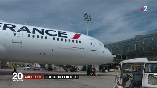 Air France : des phases de turbulence ces dernières années