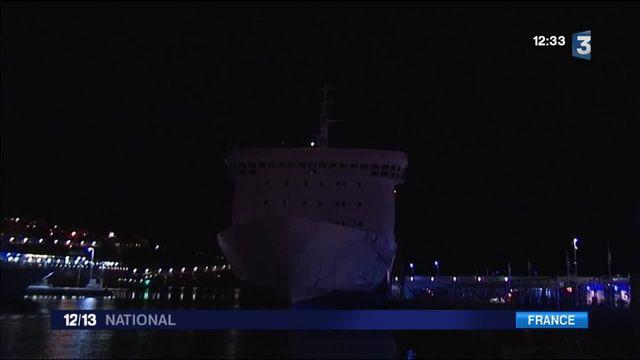 Nice : incendie à bord d'un paquebot