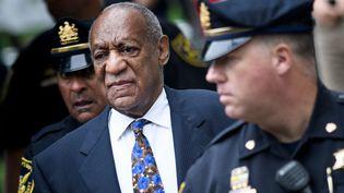L'acteur Bill Cosby, avant son procès à Norristown, en Pennsylvanie (Etats-Unis), le 24 septembre 2018. (BRENDAN SMIALOWSKI / AFP)