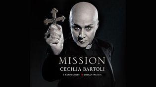 """La pochette de """"Mission"""" de Cecilia Bartoli  (Decca)"""