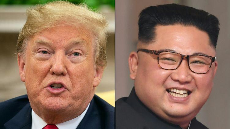 """Dans une interview à Reuters lundi 20 août, Donald Trump a estimé """"probable"""" qu'il rencontre de nouveau le leader nord-coréen Kim Jong-un. (NICHOLAS KAMM / AFP)"""