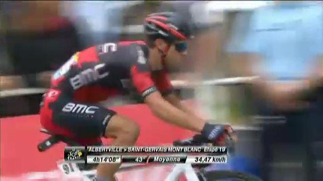 Tour de France : l'arrivée triomphale de Romain Bardet à Saint-Gervais Mont Blanc