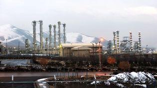 Ali Akbar Salehi,chef de l'Organisation de l'énergie atomique iranienne, a évoqué la reprise de l'enrichissement d'uranium à Arak, dimanche 28 juillet 2019. (HAMID FOROUTAN / ISNA / AFP)