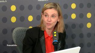 Agnès Pannier-Runacher, secrétaire d'État auprès du ministre de l'Économie et des Finances, jeudi 5 mars sur franceinfo. (FRANCEINFO / RADIO FRANCE)