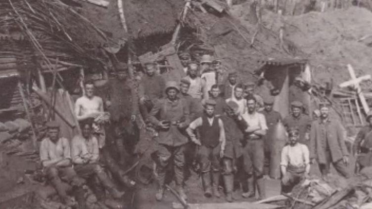 En pleine forêt de Craonne (Aisne), un tunnel où 250 soldats allemands avaient trouvé la mort en 1917 a été découvert. (France 3)