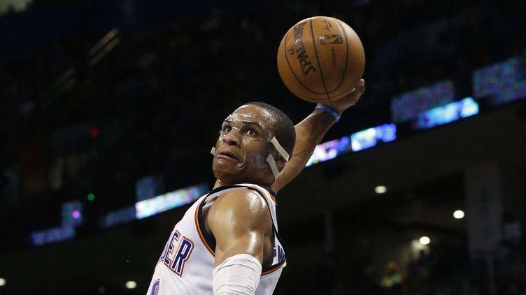 Russell Westbrook a réalisé un nouveau triple-double!  (SUE OGROCKI/AP/SIPA / AP)