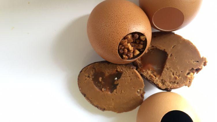 Les oeufs chocolat de Jacques Genin (Laurent Mariotte / Radio France)