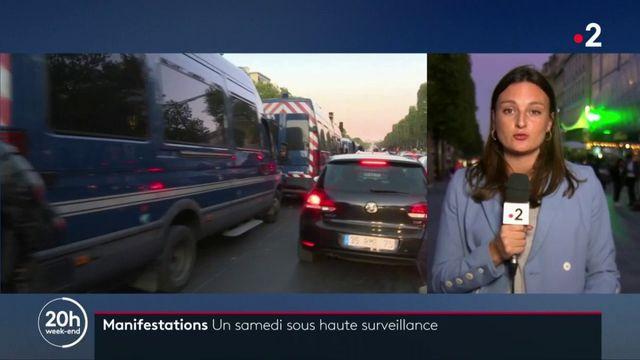 """Marche pour le climat, """"gilets jaunes"""", manifestations contre la réforme des retraites... Paris se prépare à une journée sous tension samedi"""