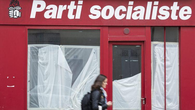 Un local du Parti socialiste à Levallois-Perret (Haute-de-Seine), le 27 septembre 2019 (photo d'illustration). (ALEXIS SCIARD / MAXPPP)