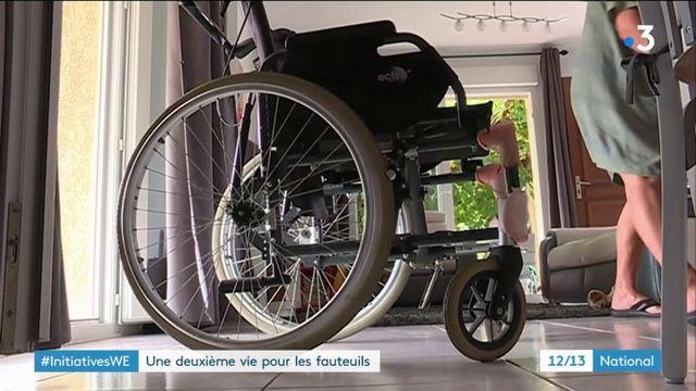 Initiative : une deuxième vie pour les fauteuils roulants