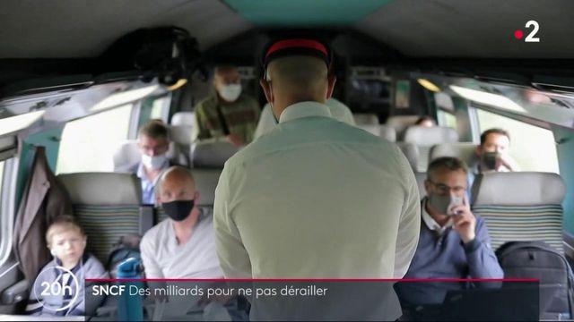 SNCF : des milliards injectés par l'Etat pour aider l'entreprise