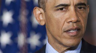 Le président américain, Barack Obama, le 1er mai 2013 à Washington (Etats-Unis). (SAUL LOEB / AFP)