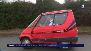 Le salon Rétromobile présente des modèles originaux. (FRANCE 3)