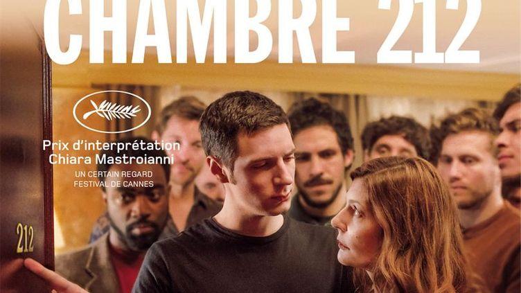 L'affiche du film Chambre 212, à sortir en salles mercredi 9 octobre. (Memento Films)