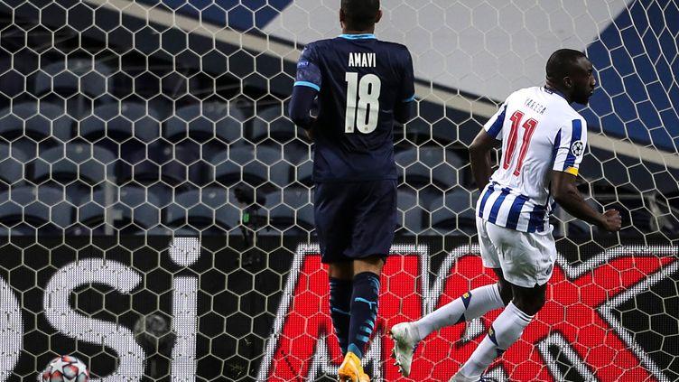 Marega ouvre le score pour Porto contre Marseille (CARLOS COSTA / AFP)