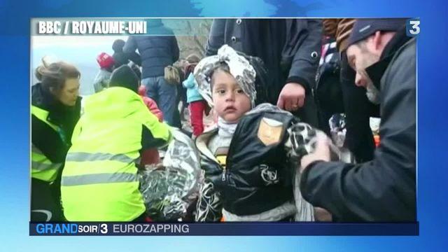 Eurozapping : Londres tend la main aux enfants migrants