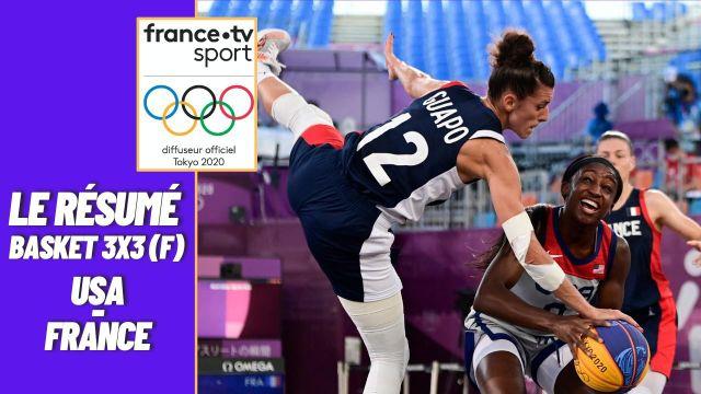 Les Bleues finissent par s'incliner face aux Etats-Unis. Quel match et quel parcours de cette belle équipe de France. Ce n'est pas fini, elles vont tenter de décrocher le bronze cet après-midi à 13h45.