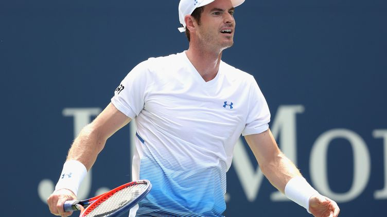 Andy Murray, sourire en coin (MATTHEW STOCKMAN / GETTY IMAGES NORTH AMERICA)