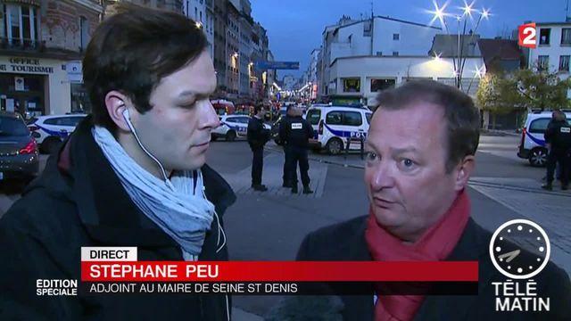 Stéphane Peu, adjoint au maire de Saint-Denis