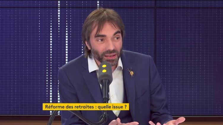 Cédric Villani, député de l'Essonneet candidat à la Mairie de Paris. Invité de franceinfo mercredi 26 février 2020 (FRANCEINFO / RADIO FRANCE)