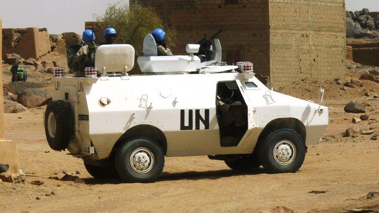 Des soldats de l'ONU patrouillent dans les rues de Kidal, dans le nord du Mali, le 17 juillet 2013. (REUTERS)
