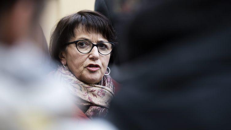 La présidente de la FNSEA, Christiane Lambert, le 3 décembre 2019 à Matignon. (MAXPPP)