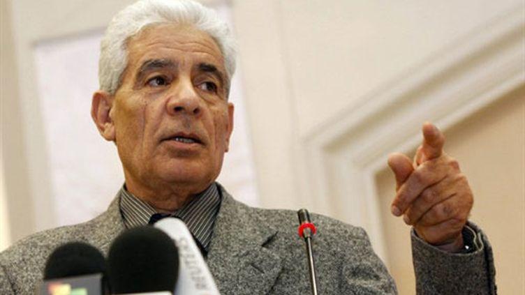 Le ministre des Affaires étrangères libyen démissionnaire Moussa Koussa (7 mars 2011) (AFP / Mahmud Turkia)