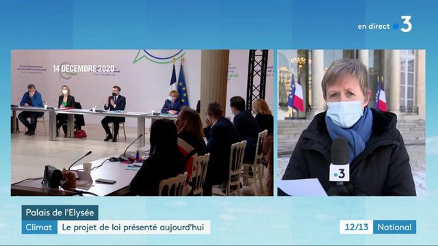 """Climat : présentation du texte de loi """"Climat et Résilience"""" en Conseil des Ministres"""