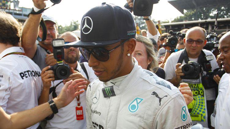 Lewis Hamilton (Mercedes) (FLORENT GOODEN / DPPI MEDIA)