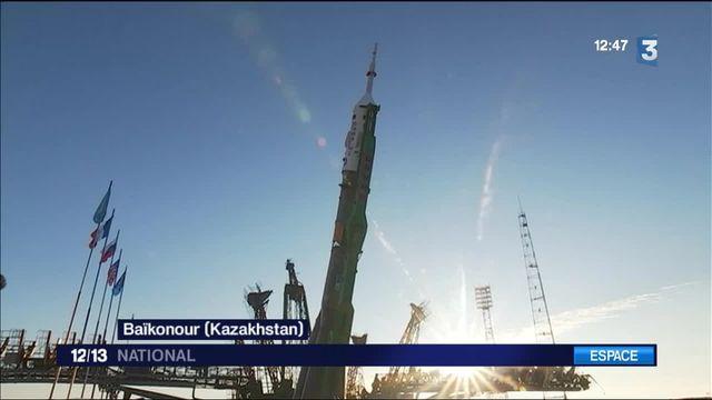 Espace : la fusée Soyouz est prête à décoller du Kazakhstan