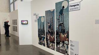 """Exposition""""Aux origines de la bande dessinée l'imagerie populaire"""", musée de l'Image d'Epinal (Vosges), 24 juin 2021 (Laurence Houot / franceinfo Culture)"""