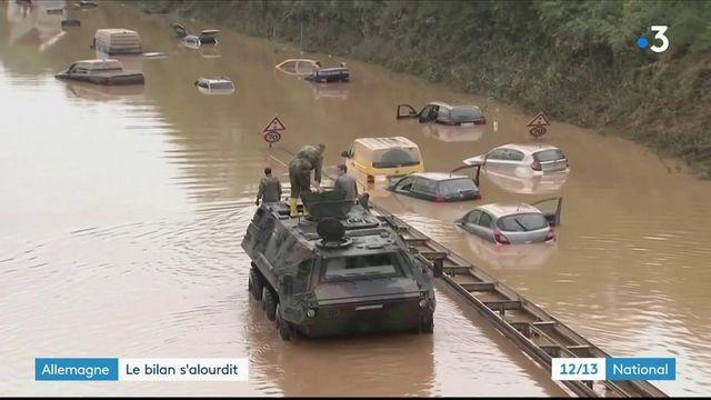Inondations en Allemagne : le nombre de disparus est encore inconnu