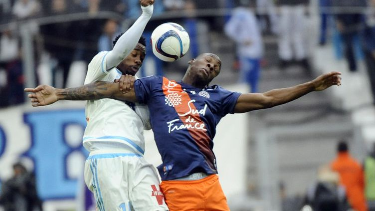 Duel entre Nkoudou et Dabo (FRANCK PENNANT / AFP)