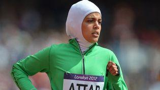 Engagée sur le 800 m, en août 2012, à Londres, lasaoudienneSarah al-Attar prend part, en août 2016, à Rio, au marathon. (Photo AFP)