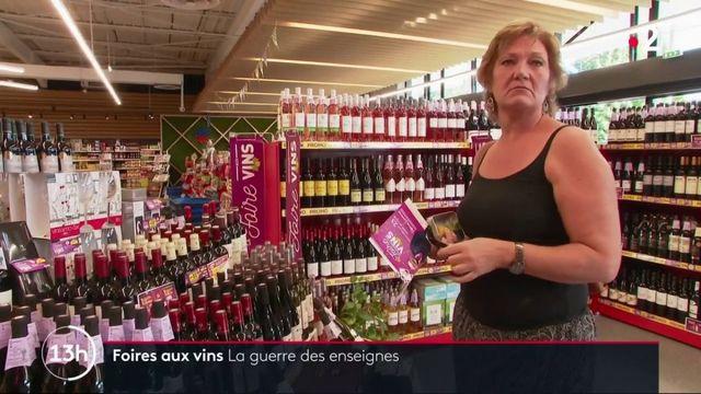 Consommation : la guerre des enseignes autour des foires aux vins