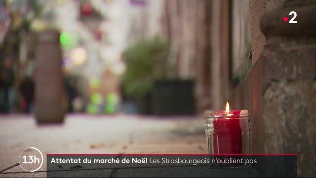 Strasbourg : un an après l'attentat du marché de Noël, les habitants n'oublient pas