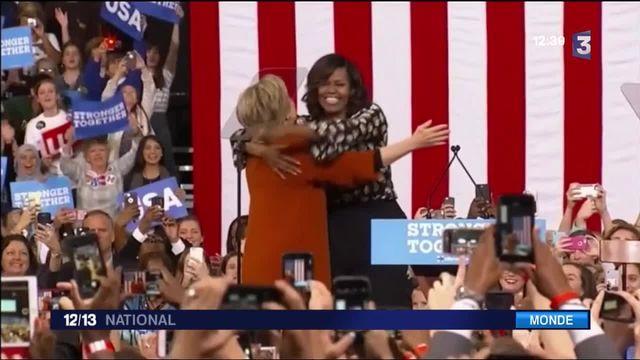 Présidentielle américaine : le duo de premières dames