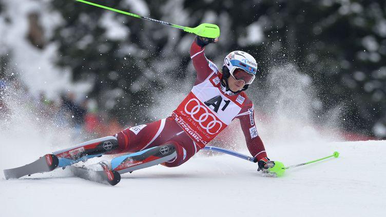 Henrik  Kristoffersen. (SAMUEL KUBANI / AFP)
