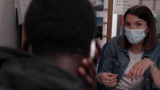 Jennifer Petit est éducatrice à la protection judiciaire de la jeunesse. (CAPTURE ECRAN FRANCE 3)