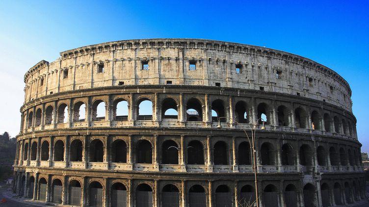 Vue extérieure du Colisée à Rome en italie, en 2012 (F.BUFFETRILLE / LEEMAGE / LEEMAGE VIA AFP)
