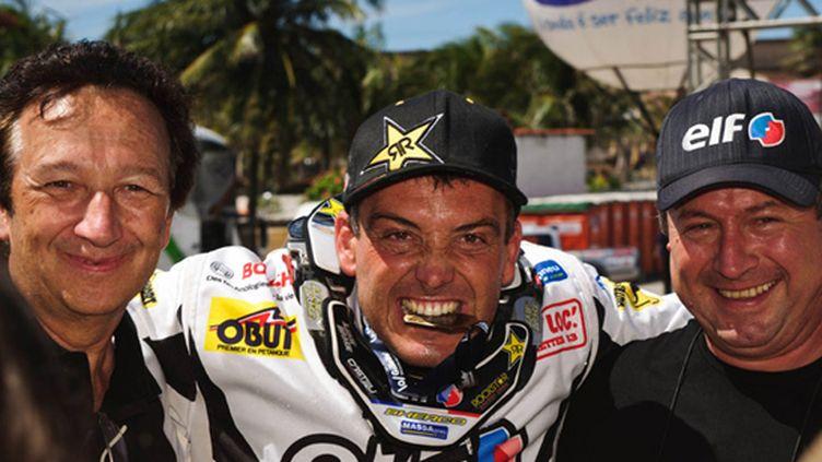 David Casteu est champion du monde 450 sur Sherco