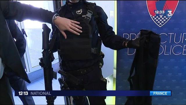 Sécurité : les policiers de la BAC reçoivent de nouveaux équipements de pointe