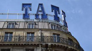 Le magasin Tati du boulevard Barbès, dans le 18e arrondissement de Paris. (LP/ CHLO? BARBAUX / MAXPPP)