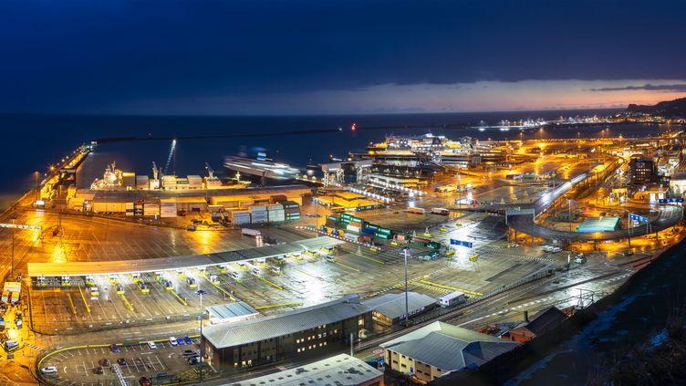 Le port de Douvres dans le comté du Kent, au Royaume-Uni. (Illustration) (VENI / E+ / GETTY IMAGES)