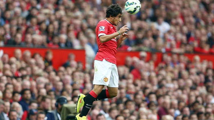 Le défenseur de Manchester United, Rafael, est tout près de signer à l'OL (MATT WEST / BACKPAGE IMAGES LTD)
