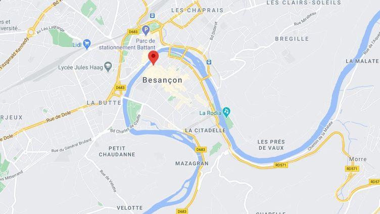 Capture d'écran google maps (27 mars 2021). (GOOGLE MAPS)