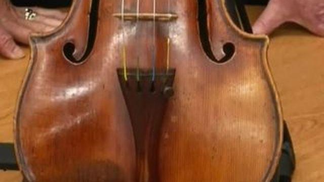 Un Stradivarius retrouvé après 35 ans, après sa disparition